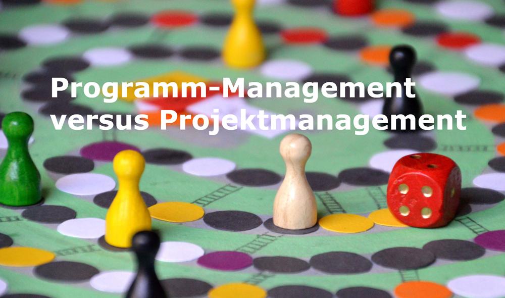 Impulsvortrag Programm-Management vs. Projektmanagement
